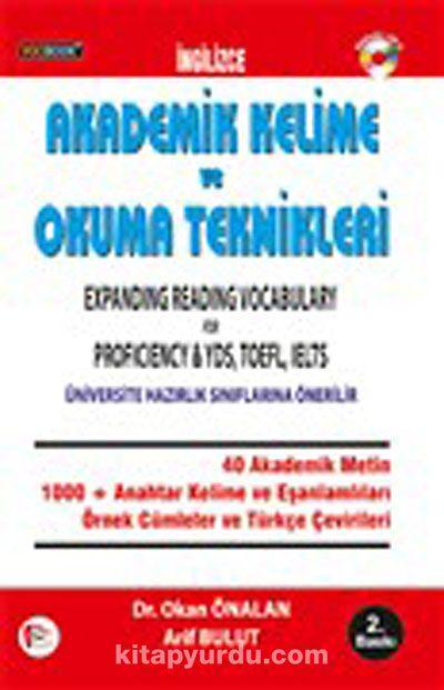 Vocibook Akademik Kelime ve Okuma Teknikleri / Expanding Reading Vocabulary for Proficiency - YDS, TOEFL, IELTS