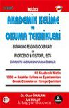 Vocibook Akademik Kelime ve Okuma Teknikleri / Expanding Reading Vocabulary for Proficiency - YDS, TOEFL, IELTS