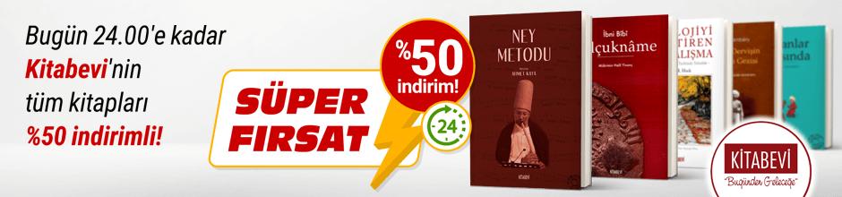Bugüne Özel Kitabevi %50 indirimli!