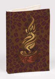 Kitap Kılıfı - Kahve (XS)