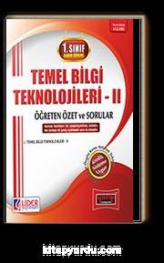 1. Sınıf Bahar Dönemi Temel Bilgi Teknolojileri II Öğreten Özet ve Sorular (Kod:112-TBT)