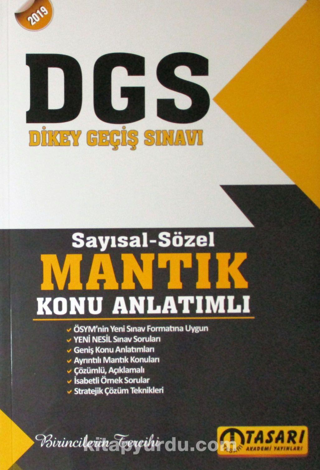 DGS Sayısal Sözel Mantık Konu Anlatımı - Kollektif pdf epub