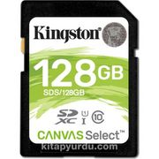 Kingston 128Gb Sdxc Canvas Select 80R Cl10 Uhs-I Card Sds/128Gb