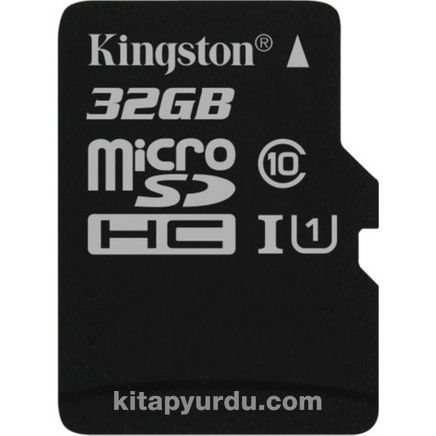 Kingston 32Gb Mıcrosdhc Canvas Select 80R Cl10 Uhs-I Card + Sd Adapter  Sdcs/32Gb