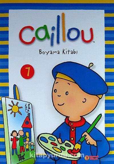 Caillou Boyama Kitabi 7 Kitapyurdu Com