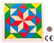 Montessori Ahşap Zeka Oyunları / w-Magic Square