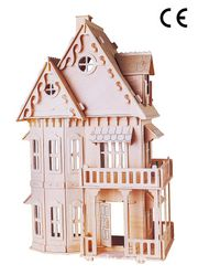 Montessori Ahşap Zeka Oyunları / w-Gothic House