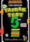 5. Sınıf Tüm Dersler Yaprak Test
