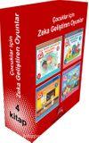 Çocuklar İçin Zeka Geliştiren Oyunlar ( 4 Kitap)