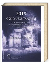 2019 Gökyüzü Takvimi