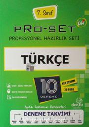 7. Sınıf Pro-Set Türkçe Denemeleri 25 Deneme