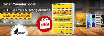 """Çınar Yayınları'ndan 50TL ve Üzeri Alışverişlerinizde """"Kanlakarışık"""" Kitabı Hediye!"""