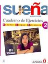 Suena 2 B1 Cuaderno de Ejercicios (İspanyolca Orta Seviye Çalışma Kitabı)