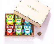 Montessori Ahşap Zeka Oyunları / w-Owl Balance