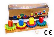 Montessori Ahşap Zeka Oyunları / w-Geometric Wheel