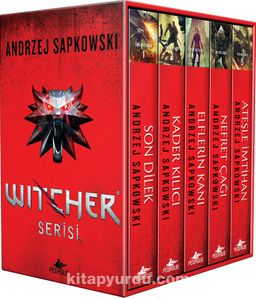 The Witcher Serisi Kutulu Özel Set (5 Kitap)