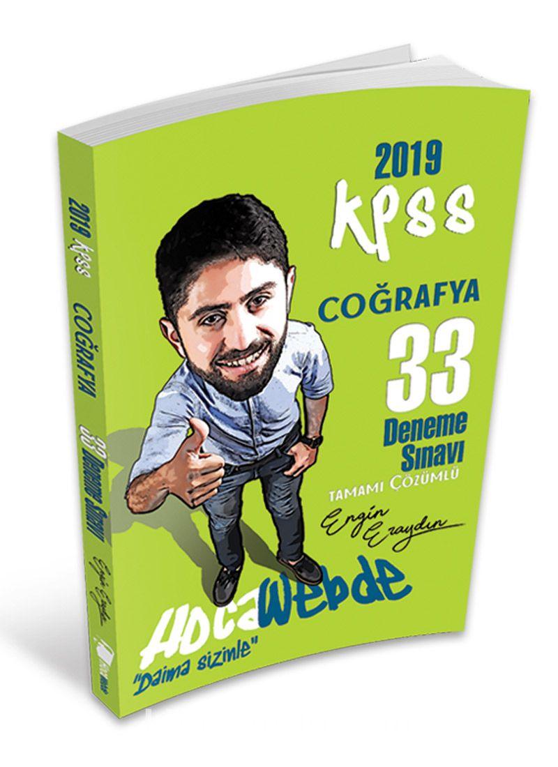 2019 KPSS Coğrafya Tamamı Çözümlü 33 Deneme Sınavı - Engin Eraydın pdf epub