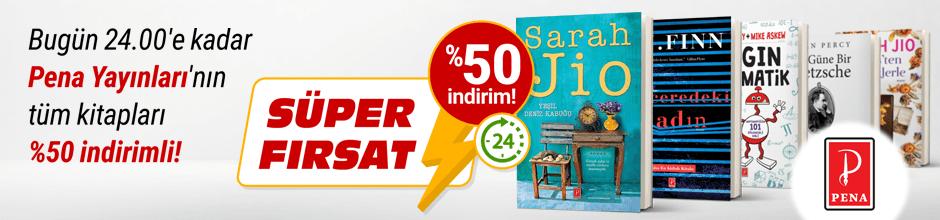 Bugüne Özel Pena Yayınları %50 indirimli!
