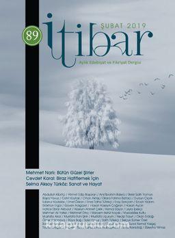 Sayı:89 Şubat 2019 İtibar Edebiyat ve Fikriyat Dergisi