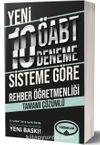 Rehber Öğretmenliği Tamamı Çözümlü 10 Deneme (75 Soruluk Yeni Sisteme Göre)