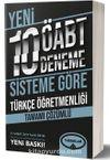 Türkçe Öğretmenliği Tamamı Çözümlü 10 Deneme (75 Soruluk Yeni Sisteme Göre)
