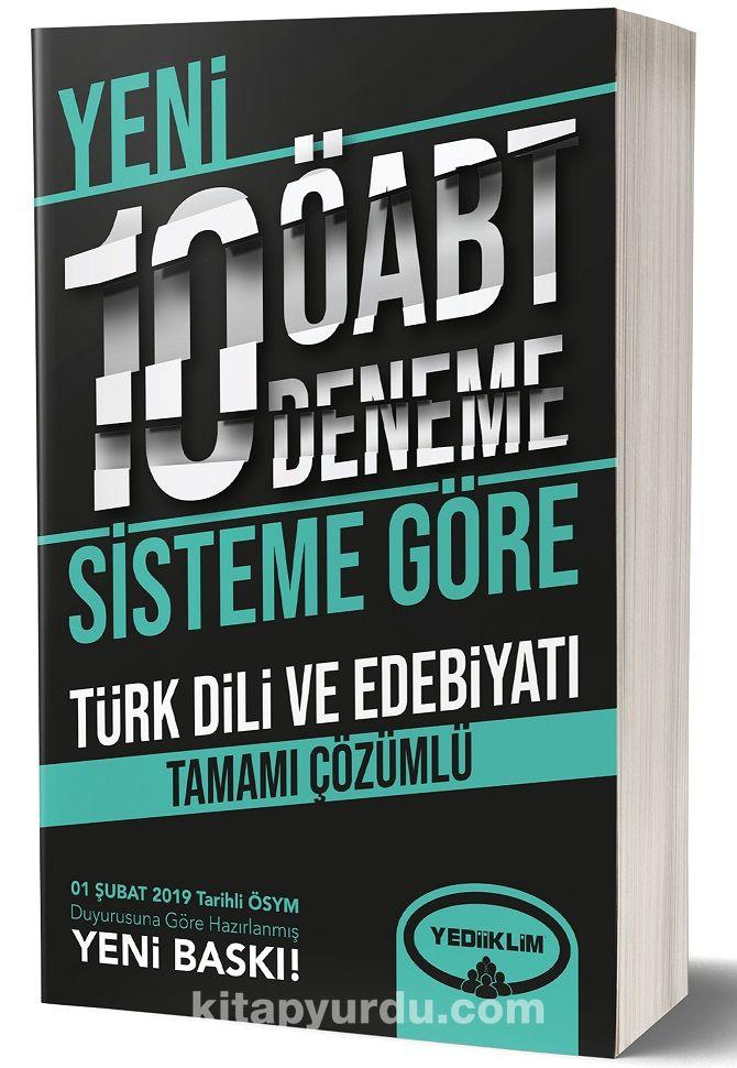 ÖABT Türkdili Ve Edebiyatı Tamamı Çözümlü 10 Deneme (75 Soruluk Yeni Sisteme Göre) - Kollektif pdf epub