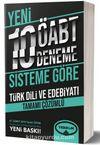 ÖABT Türkdili Ve Edebiyatı Tamamı Çözümlü 10 Deneme (75 Soruluk Yeni Sisteme Göre)
