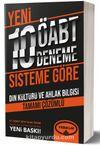 ÖABT Din Kültürü ve Ahlak Bilgisi Tamamı Çözümlü 10 Deneme (75 Soruluk Yeni Sisteme Göre)
