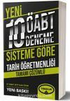 ÖABT Tarih Tamamı Çözümlü 10 Deneme ( 75 Soruluk Yeni Sisteme Göre)