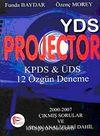 YDS Projector KPDS&ÜDS 12 Özgün Deneme