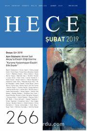 Sayı:266 Şubat 2019 Hece Aylık Edebiyat Dergisi