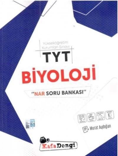 TYT Biyoloji Nar Soru Bankası Video Çözümlü - Murat Aydoğan pdf epub
