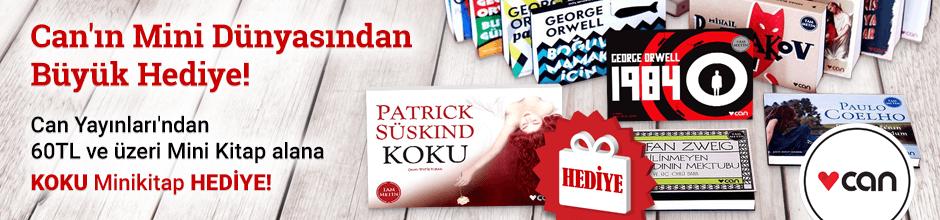 Can Yayınları'ndan 60TL ve üzeri Mini Kitap alana ''Koku (Mini Kitap)'' Hediye!