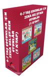 4-7 Yaş Çocuklar İçin IQ Zeka Geliştiren Oyunlar (5 Kitap)