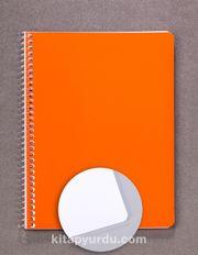 Bookinzi Okul Defteri - 80gr. 70 yaprak  A5 Spiralli Çizgisiz Defter