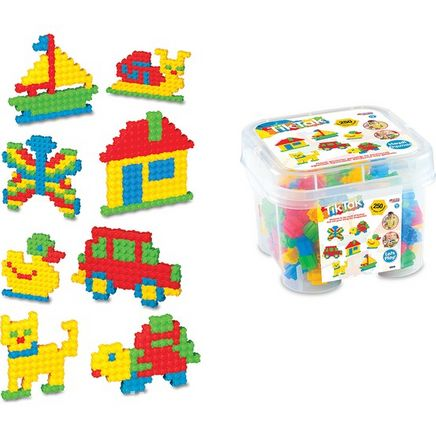 Tiktak Küçük Box 250 Parça (03153)