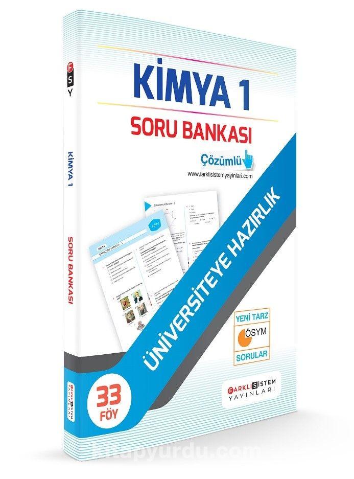 Üniversiyete Hazırlık Kimya 1 Soru Bankası (33 Föy) - Kollektif pdf epub