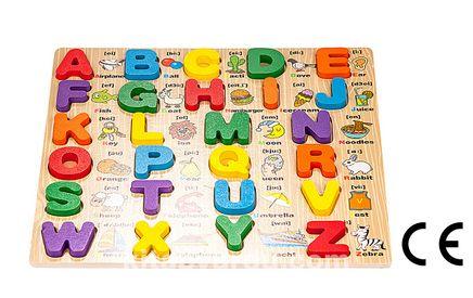 Montessori Ahşap Zeka Oyunları / w-Alphabet