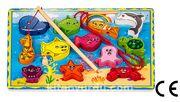 Montessori Ahşap Zeka Oyunları / w-Magnetic Fishing 4