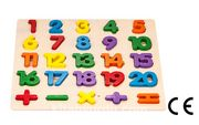 Montessori Ahşap Zeka Oyunları / w-Math Learn