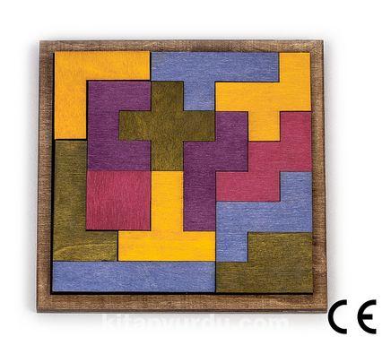 Montessori Ahşap Zeka Oyunları / w-Tetrisk 14