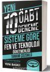 ÖABT Fen ve Teknoloji Öğretmenliği Tamamı Çözümlü 10 Deneme (75 Soruluk Yeni Sisteme Göre)