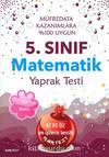 5. Sınıf Matematik Yaprak Testi