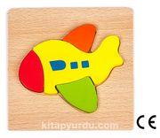 Montessori Ahşap Zeka Oyunları / w-Basic Parts AIRPLANE