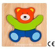 Montessori Ahşap Zeka Oyunları / w-Basic Parts BEAR