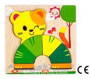 Montessori Ahşap Zeka Oyunları / w-Basic Parts CAT