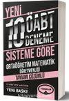 ÖABT Ortaöğretim Matematik Tamamı Çözümlü 10 Deneme (75 Soruluk Yeni Sisteme Göre )