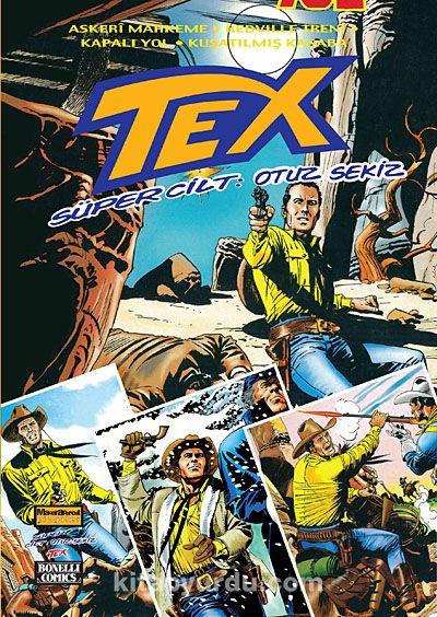 Tex Süper Cilt 38 - Kollektif pdf epub