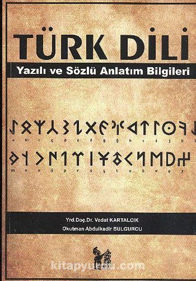 Türk DiliYazılı ve Sözlü Anlatım Bilgileri - Vedat Kartalcık pdf epub