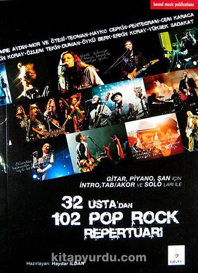 32 Usta'dan 102 Pop Rock Repertuarı -  pdf epub